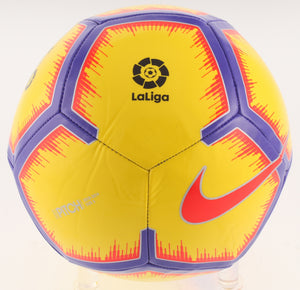 Lionel Messi Signed Pitch Nike Soccer Ball
