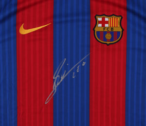 Lionel Messi Signed Barcelona Jersey