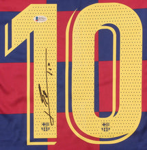 Load image into Gallery viewer, Lionel Messi Signed Barcelona Jersey