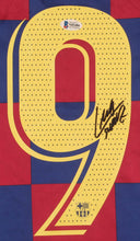 Load image into Gallery viewer, Luis Suarez Signed FC Barcelona Jersey