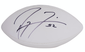 Ray Lewis Autographed Football
