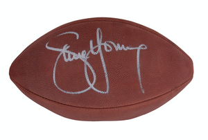 Steve Young Autographed Football