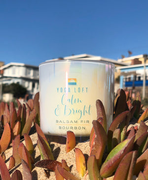 Yoga Loft Holiday Candle