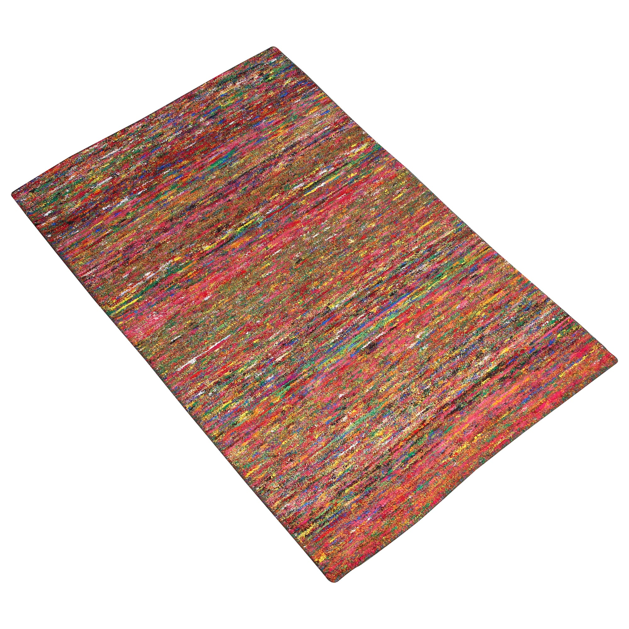 MULTI COLOR BRAIDED DURRIE RUG