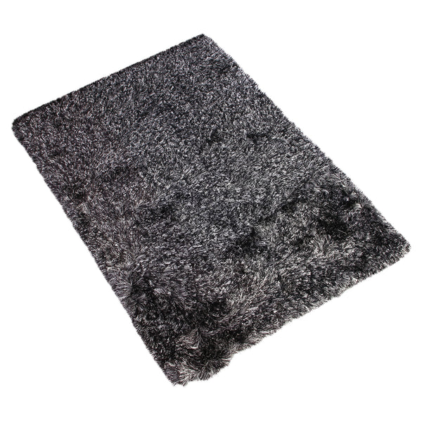 GREY SOLID SHAGGY RUG