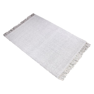GREY DURRIE RUG