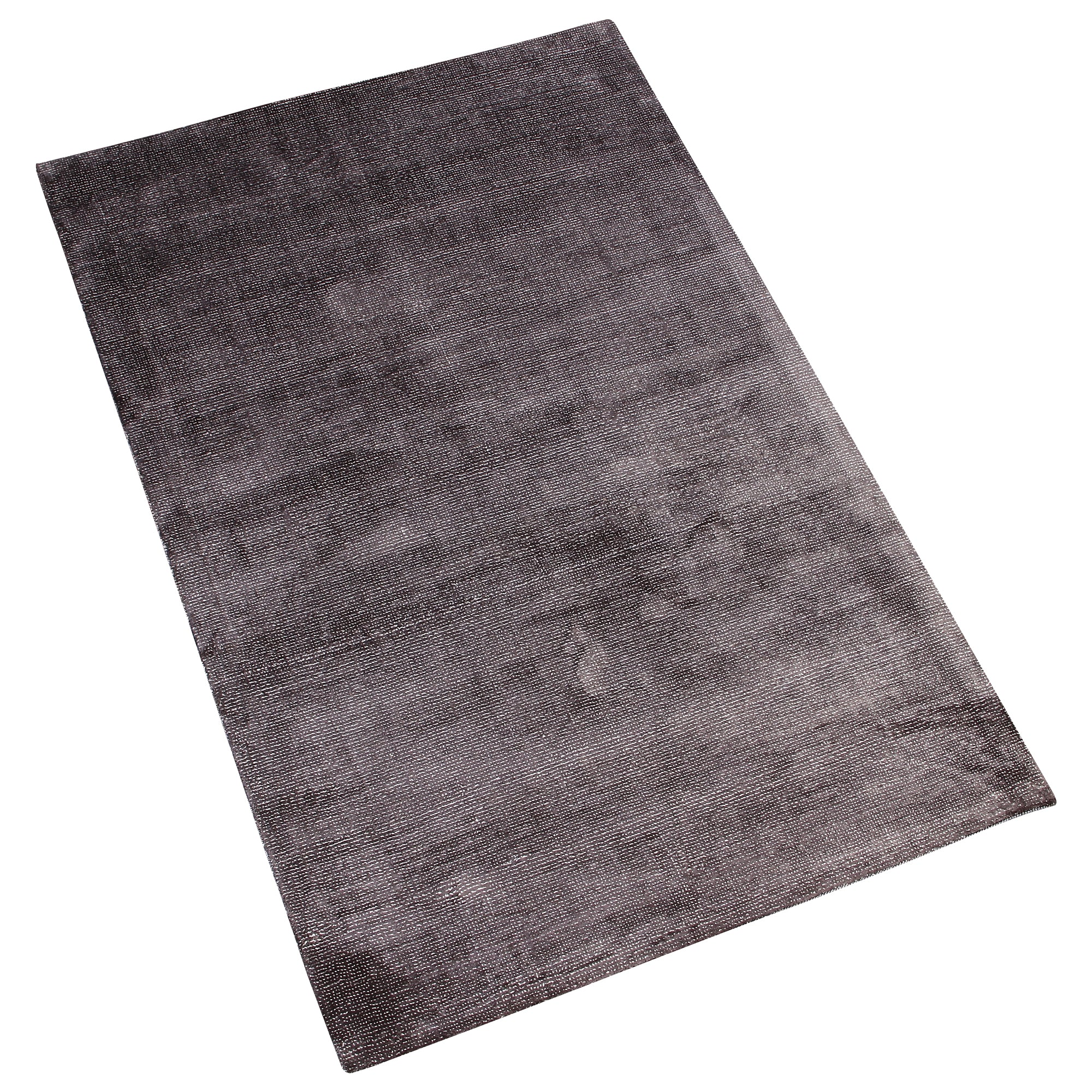 CHARCOAL GREY SOLID HAND TUFTED RUG