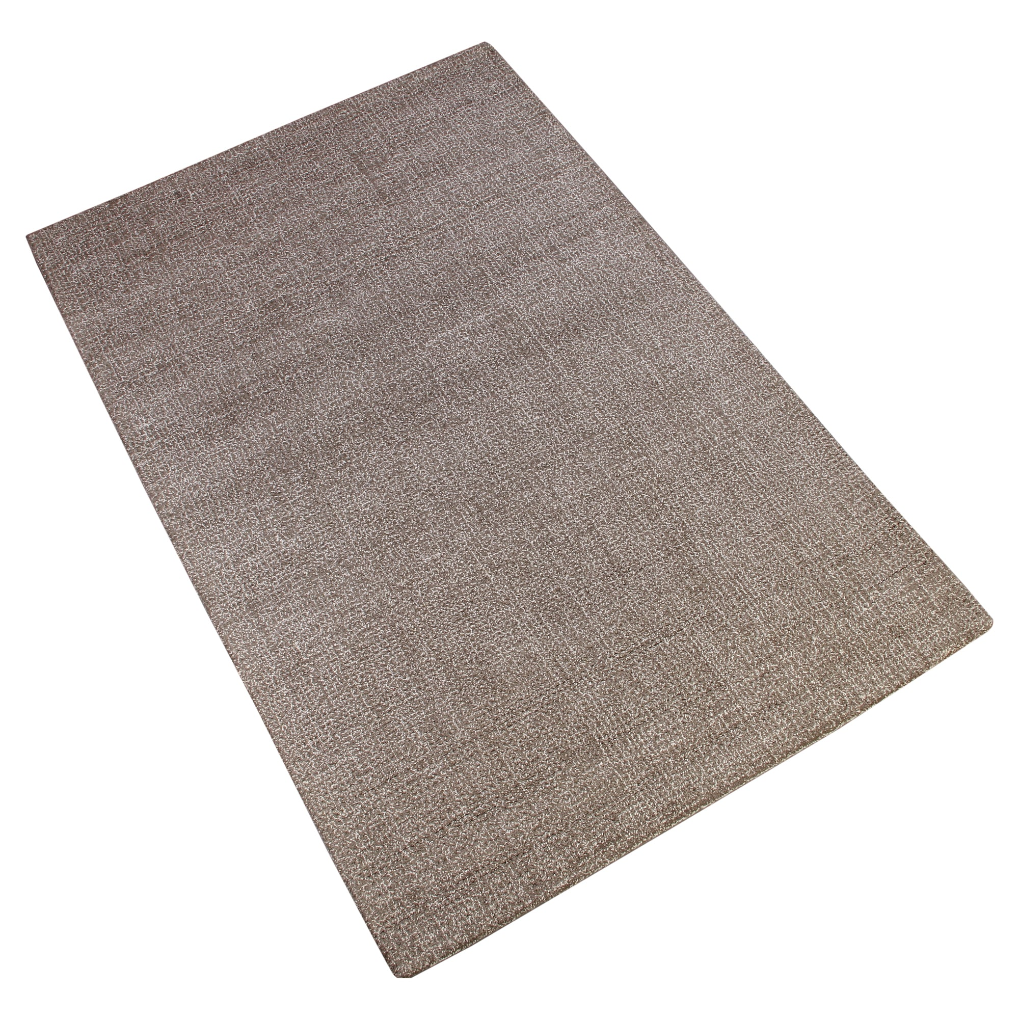 BROWN NEUTRAL JEQUARD HAND TUFTED RUG