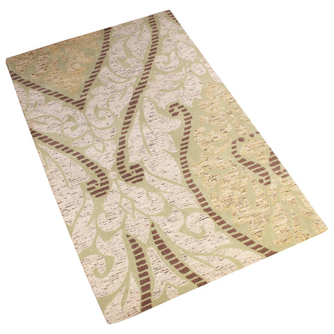 BEIGE  BROWN NEUTRAL ABSTRACT HAND TUFTED RUGS