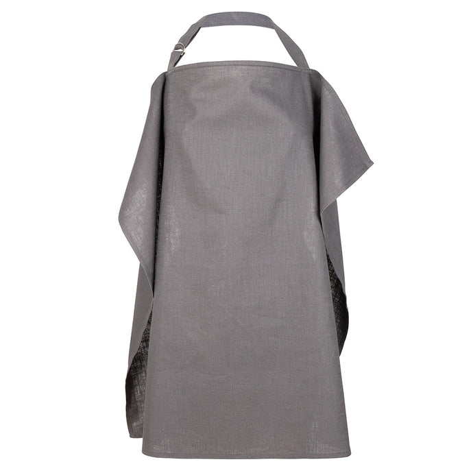Atelier Lout | nursing cover - breastfeeding cover anthracite