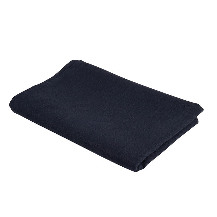 Atelier Lout | Linen crib sheets navy
