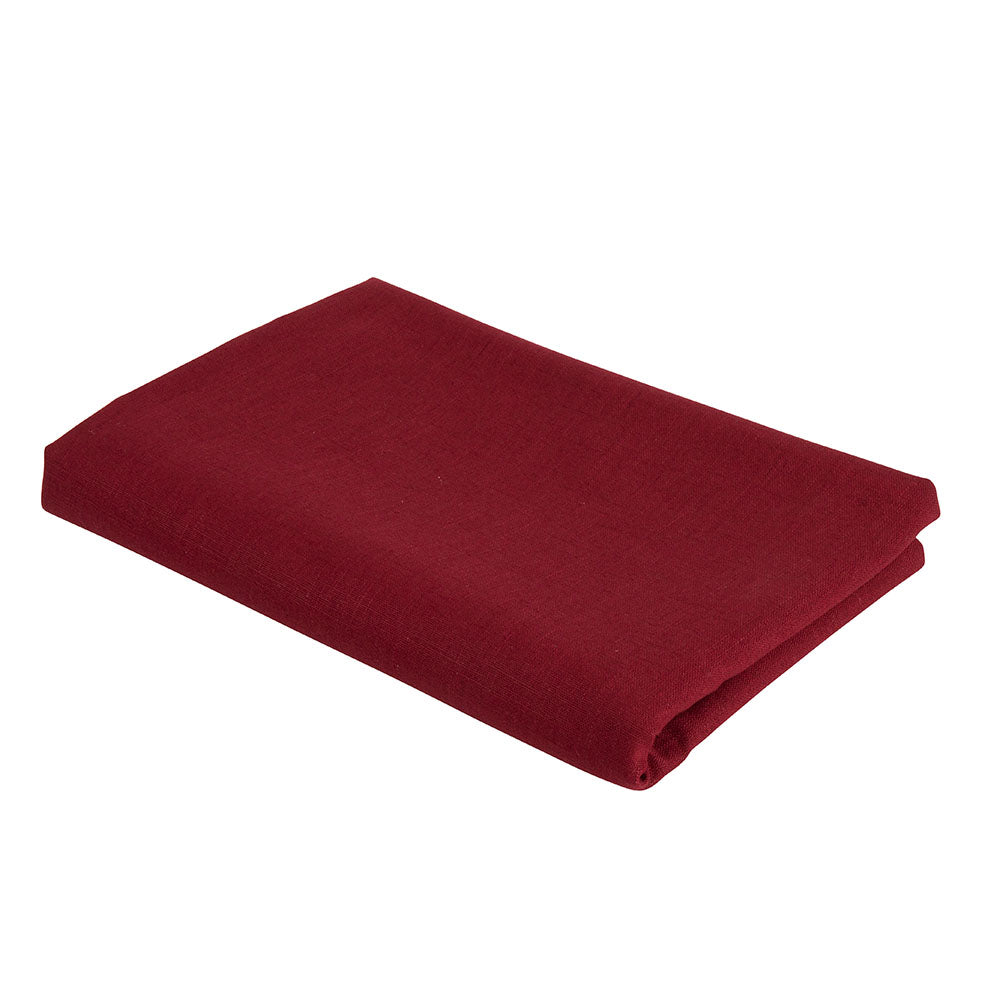 Atelier Lout | Linen crib sheets red
