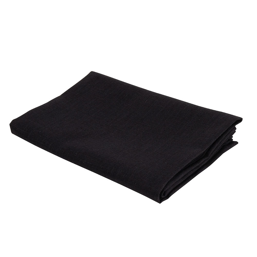 Atelier Lout linen bassinet sheets black