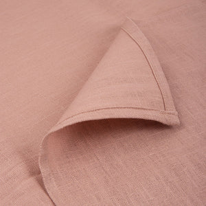 Atelier Lout | Linen crib sheets rose