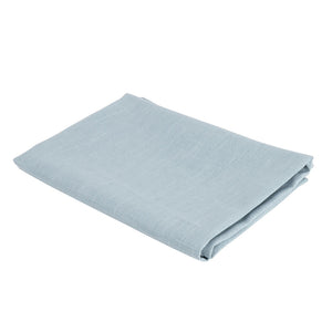 Atelier Lout linen bassinet sheets light blue