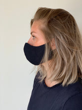 Afbeelding in Gallery-weergave laden, Atelier Lout | face mask linen navy