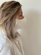 Afbeelding in Gallery-weergave laden, Atelier Lout | face mask linen white