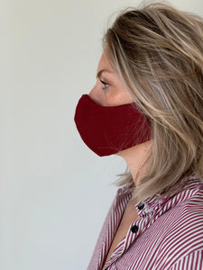 Atelier Lout | face mask linen red