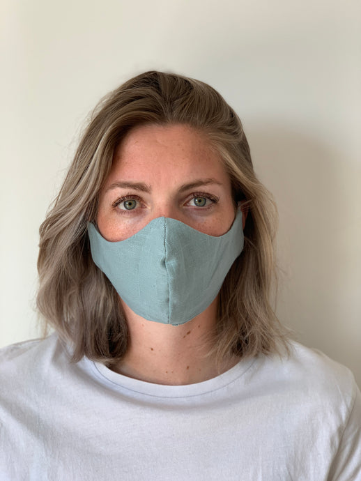Atelier Lout | face mask linen mint