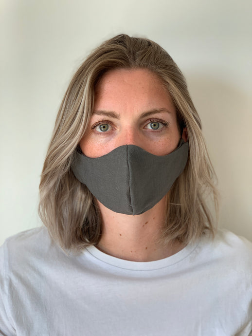Atelier Lout | face mask linen grey