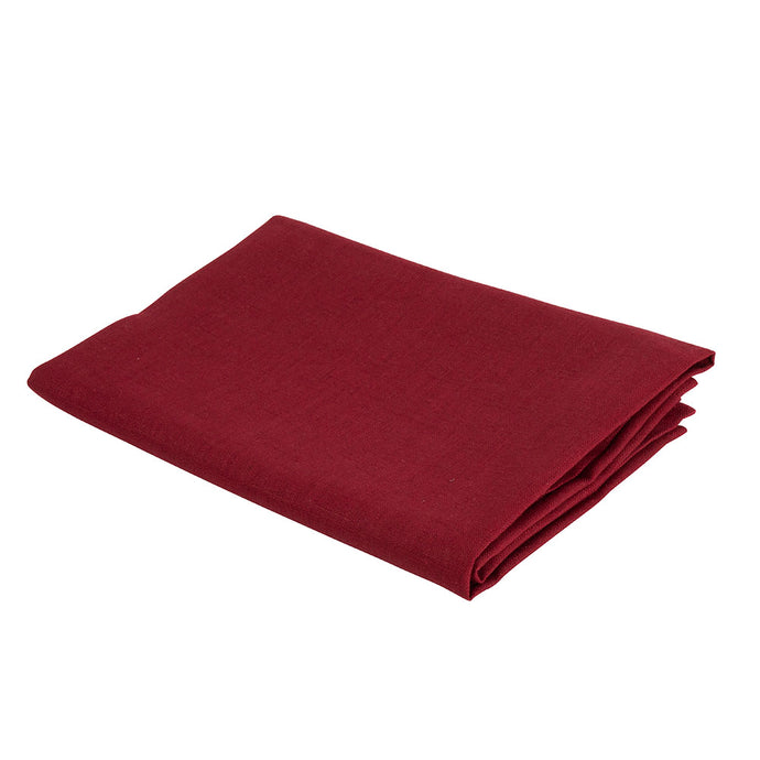Atelier Lout linen bassinet sheets red