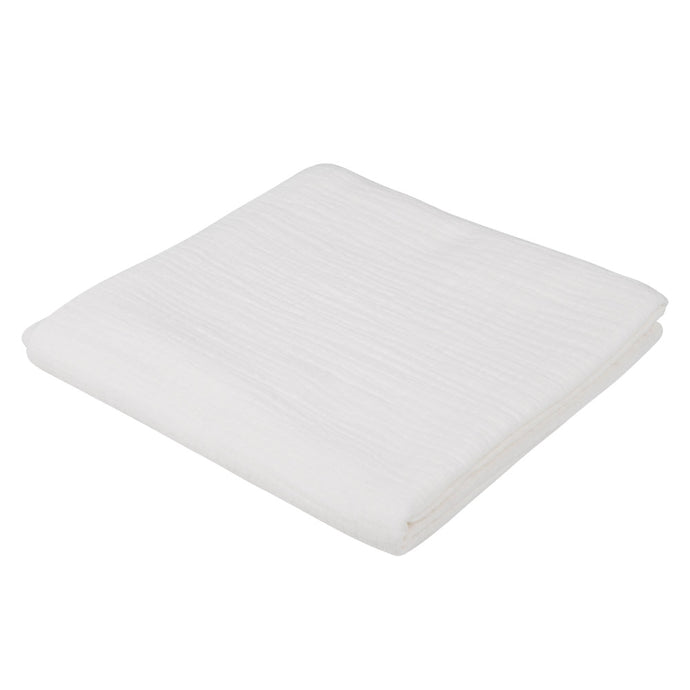 Atelier Lout | large muslin swaddle blanket white
