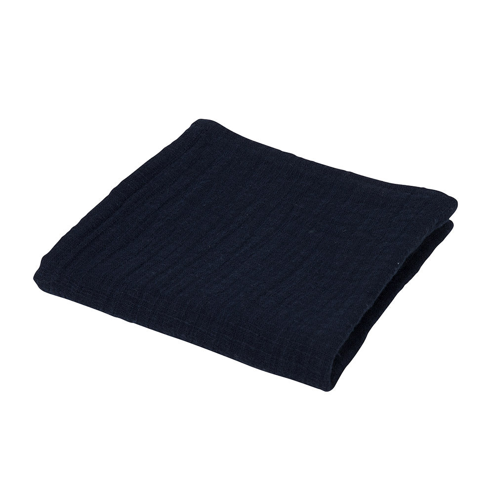 Atelier Lout | baby muslin square navy