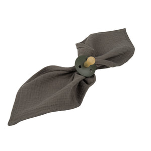 Atelier Lout | baby muslin square army green