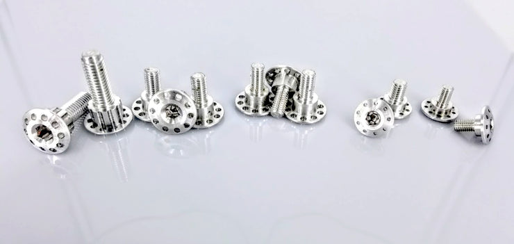 12 Bolt Billet Aluminum Body Fastener Kit