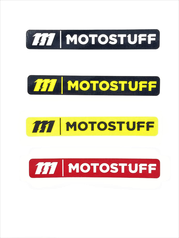 "MOTO STUFF 4.5"" Decals"