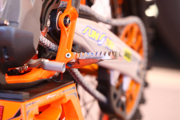 Pro Pegs Titanium Footpegs KTM Mud Enduro