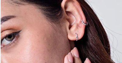 5 Mind Blowing Diamond Cartilage Hoop Earrings
