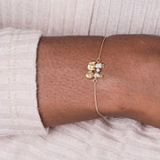 14k Diamond Couple Bracelet