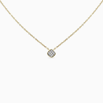 Affordable Solitaire Diamond Necklace