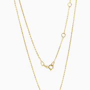 14k Gold Intitial Pendant Necklace