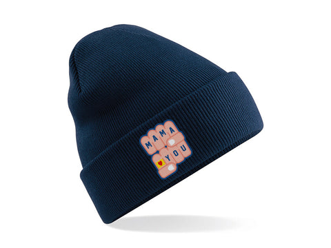 Bonnet Mama Navy
