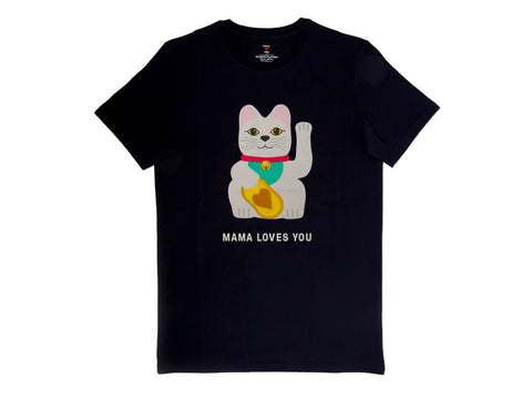 T-shirt Majestic Filatures Mama Chat Noir