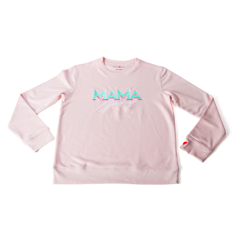 Sweatshirt Mama Gang Rose