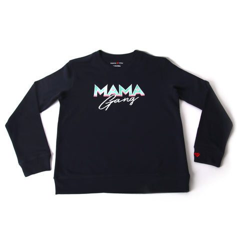 Sweatshirt Mama Gang Navy
