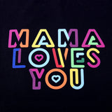 TOTE BAG NOIR MAMA LOVES YOU