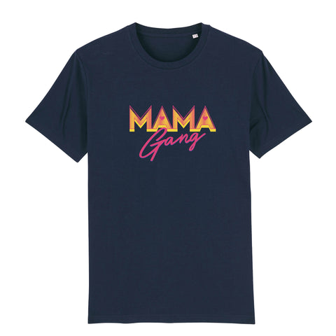T-shirt Mama Gang Navy