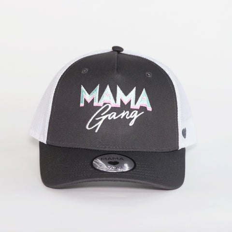 Casquette Mama Gang Gris