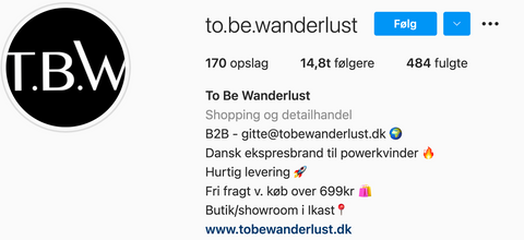 RAW58 x To Be Wanderlust