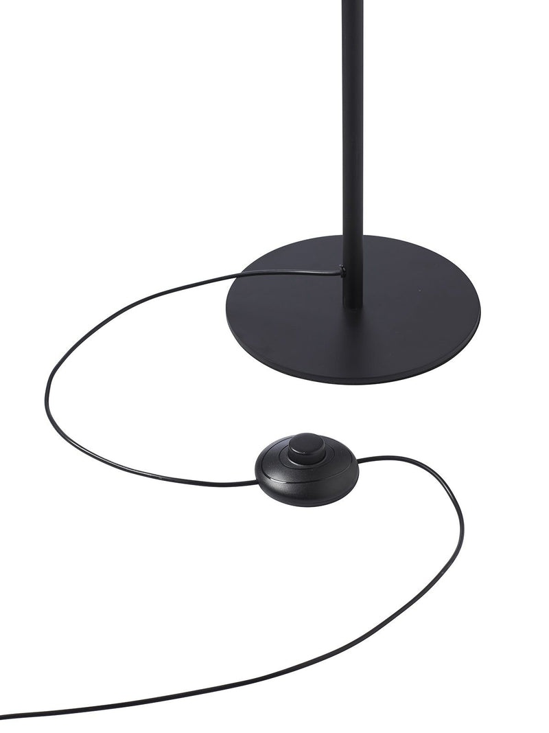 Twist sort gulvlampe