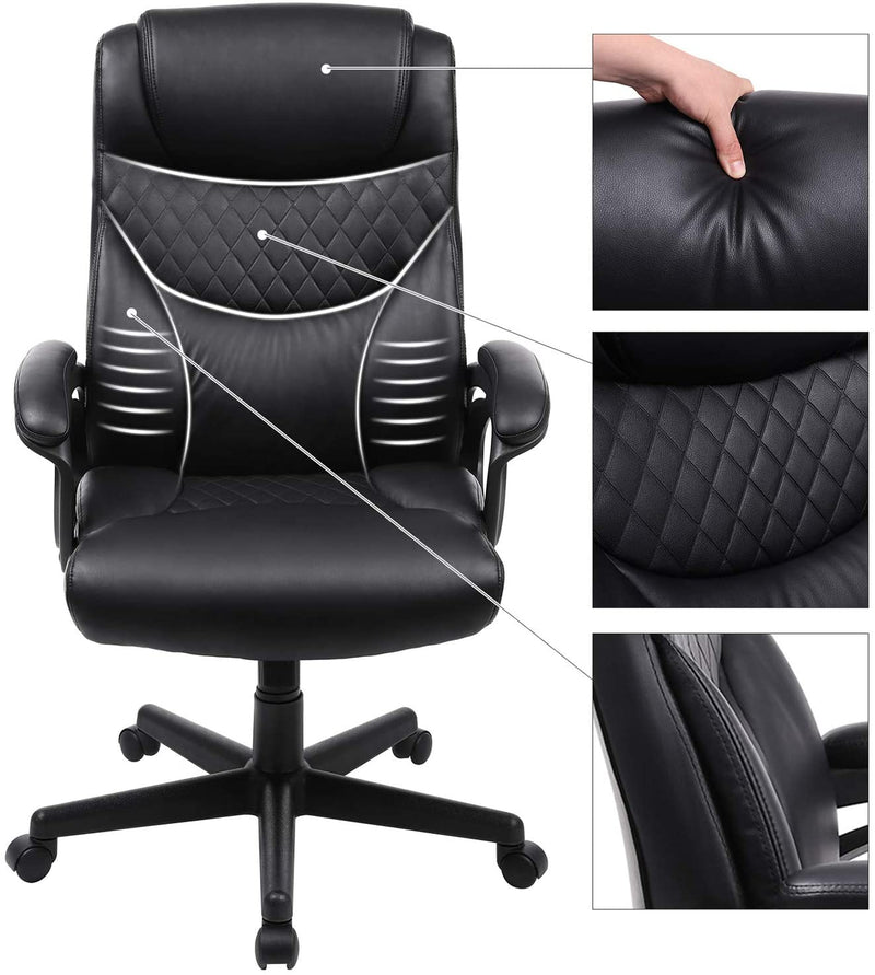 SONGMICS Soft and Comfortable Office Chair OBG23BK