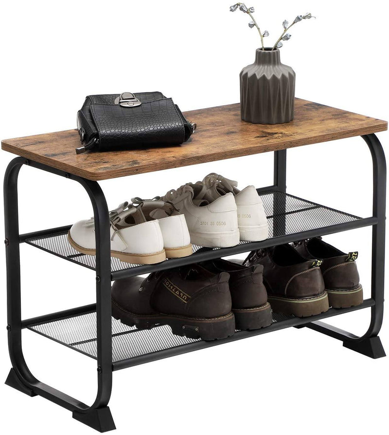Shoe Rack Bench with Seat