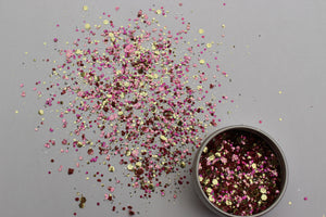 The Glitter Fairy Biodegradable Glitter - Pink Champagne