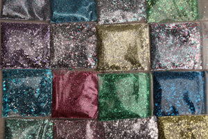 The Glitter Fairy Biodegradable Glitter Sky Blue