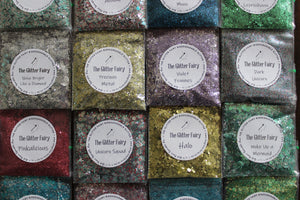 The Glitter Fairy Biodegradable Glitter Blend - Violet Femmes