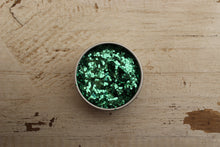Load image into Gallery viewer, The Glitter Fairy Biodegradable Glitter Green Super Chunky